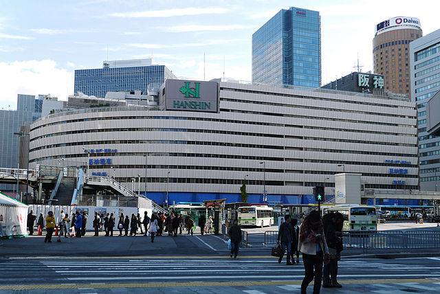 hanshin-department-store-in-umeda-of-northern-osaka-city