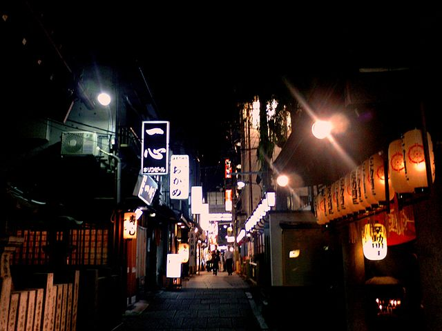 houzenji-yokocho-in-central-osaka-city